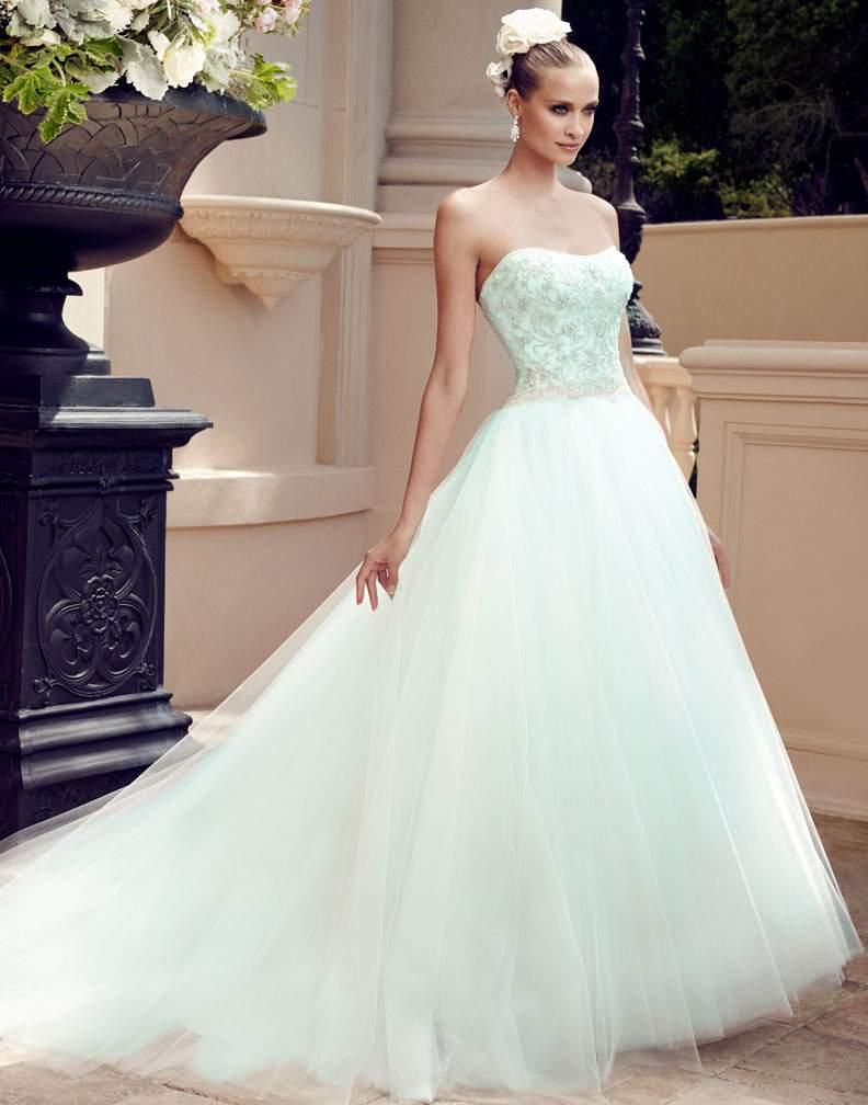 Bridal Trend Alert - Colorful Wedding Dresses / Blog / Casablanca ...