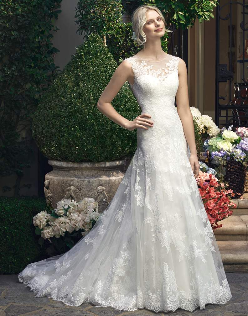 Casablanca Bridal - Trend Report - Lovely Lace Bridal Gowns / Blog ...