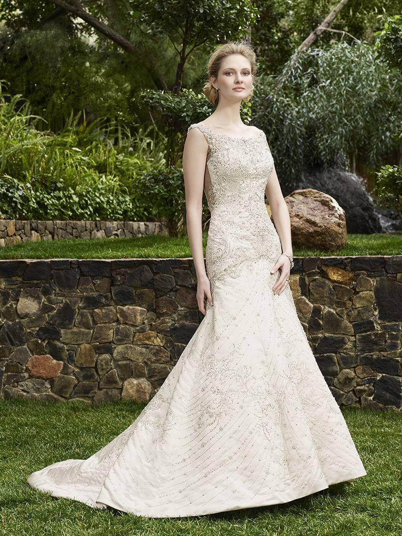 fb1c9b2b7d34 Style 2263 Jasmine | Casablanca Bridal