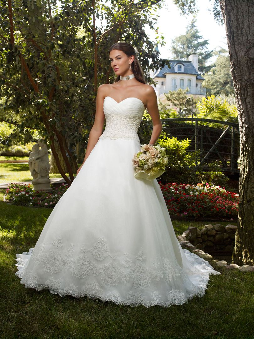 Style 1992 casablanca bridal for Casablanca wedding dress