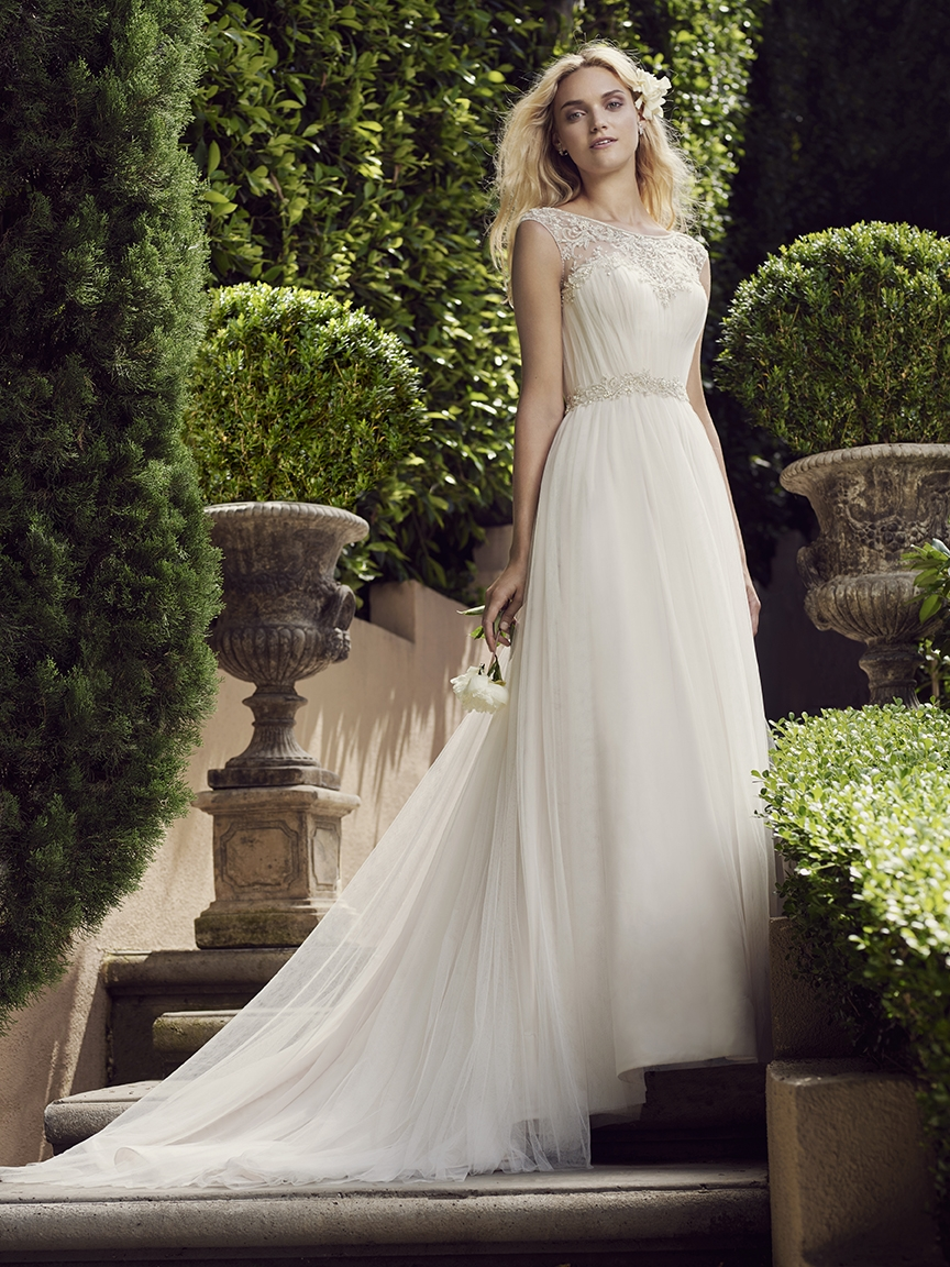Style 2225 Gardenia   Casablanca Bridal