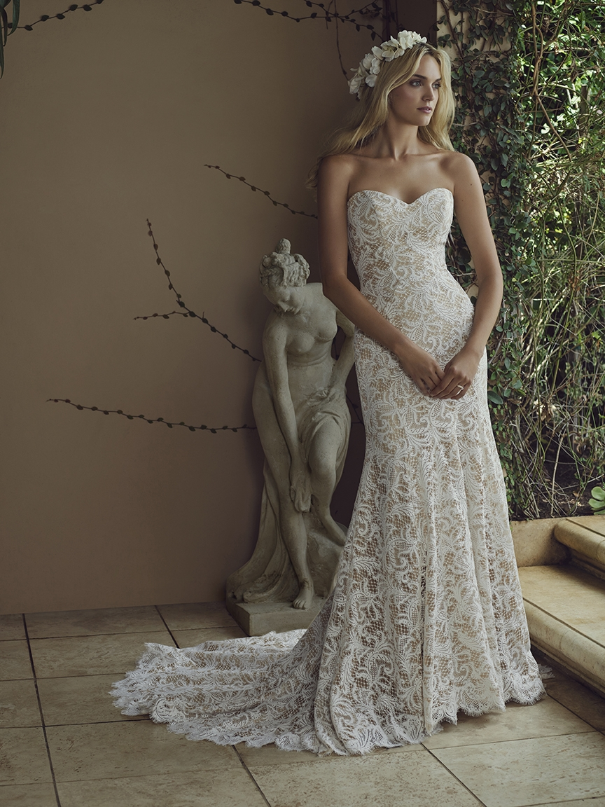 Bridal water lily 2226 wedding dresses photos brides com - Style 2226 Water Lily