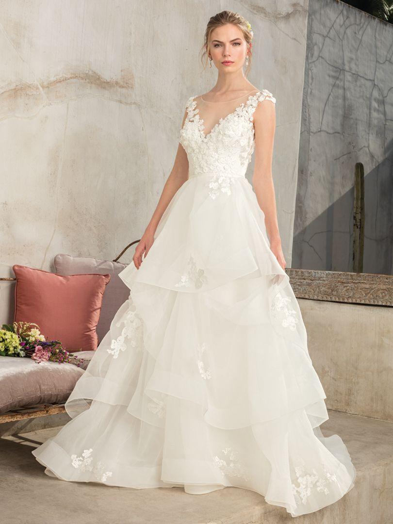 cd09b25ea5784 Style 2302 Luna | Casablanca Bridal