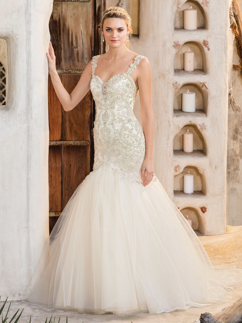 Gowns Designs With Sleeves And Gloves - Style 2307 cora