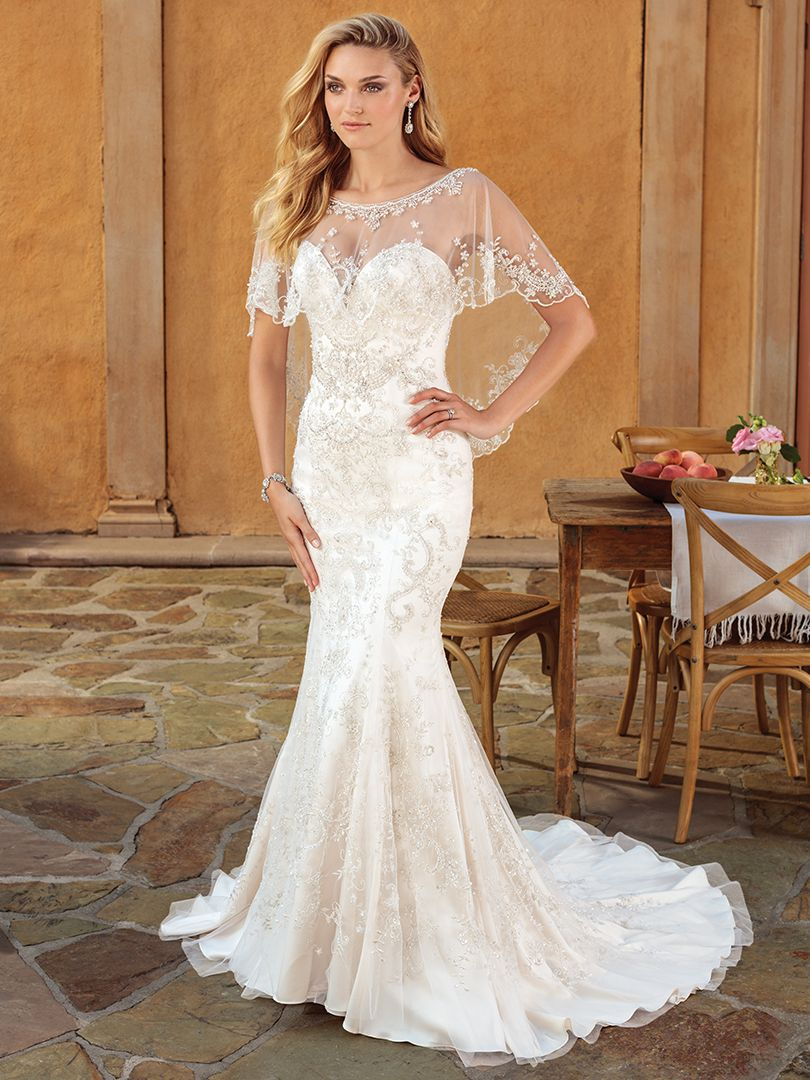 K'Mich Weddings - wedding dress - Casablanca Bridal - villa del sol