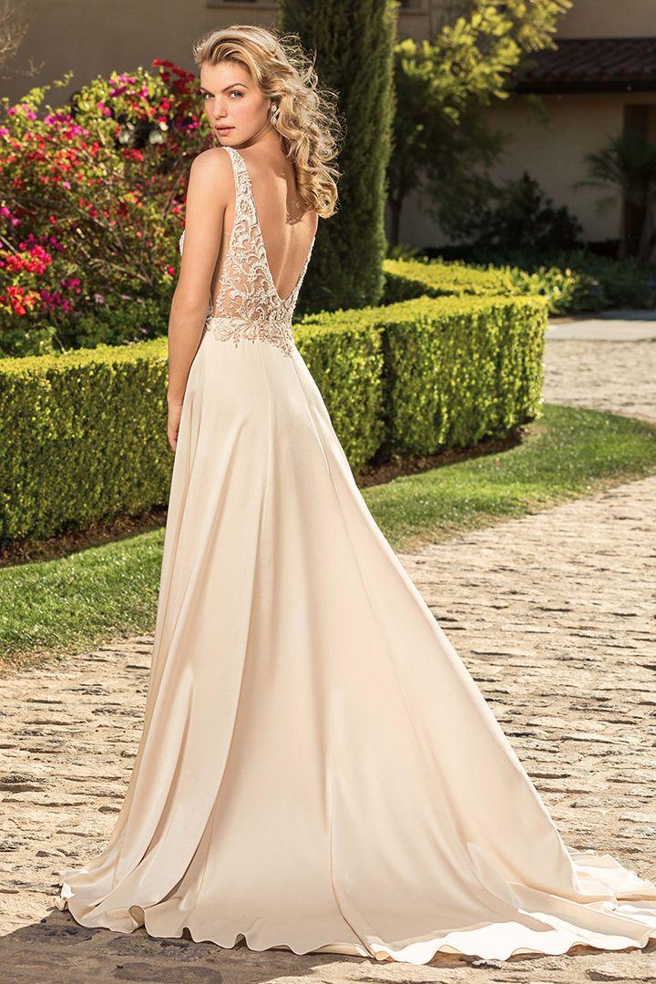 K'Mich Weddings - wedding dresses - silver blush Casablanca
