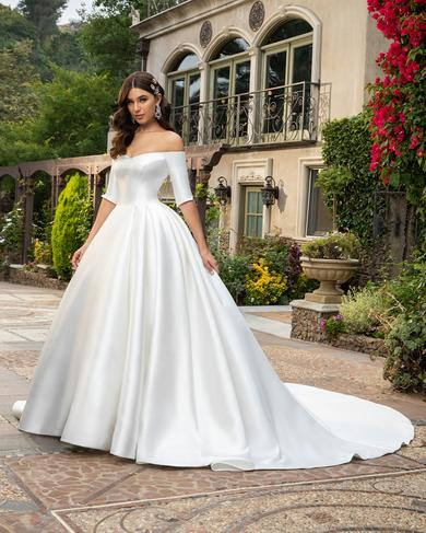 County Ball Gown Wedding Dress