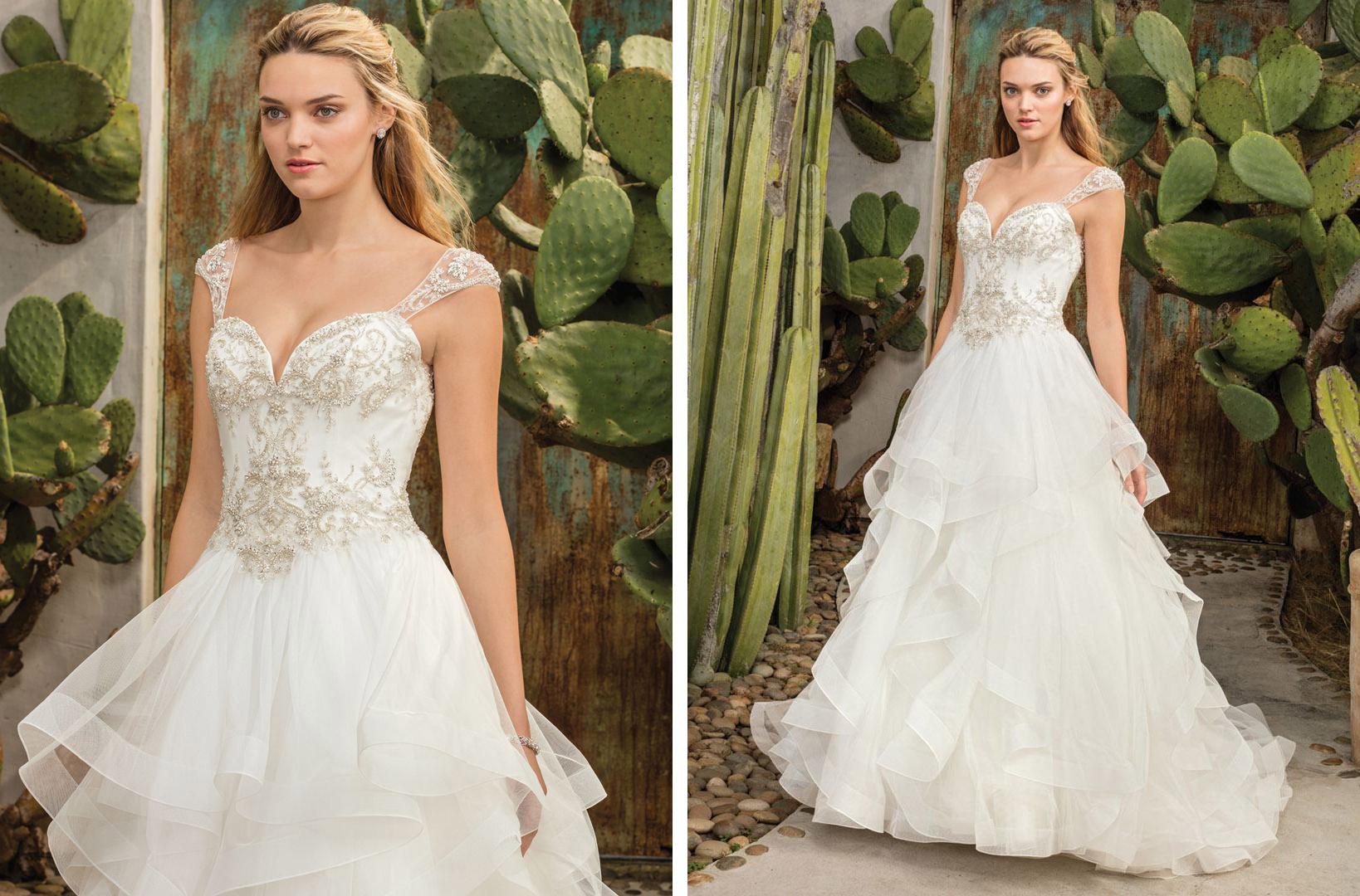 Top Ruffled Wedding Dresses By Casablanca Bridal Blog Casablanca Bridal