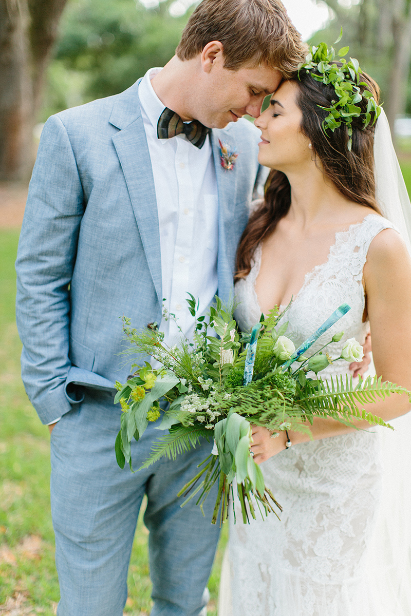 Gorgeous Green Naturalist Wedding In Style 2306 Savannah: Alexandra & Clint | Casablanca Bridal Fit And Flare Lace Wedding Dress