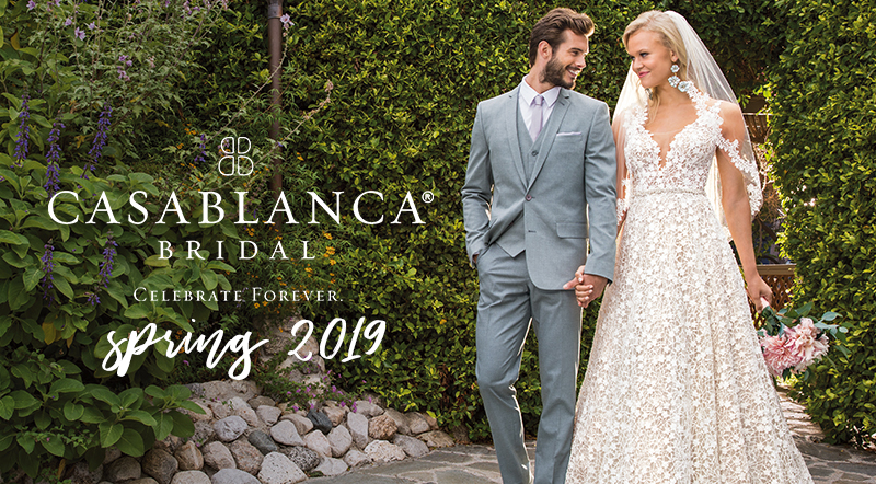 Exclusive First Look At Casablanca Bridal S New Spring 2019