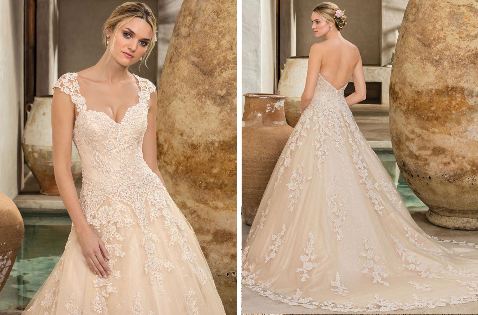 Top Colored Wedding Dresses By Casablanca Bridal Blog