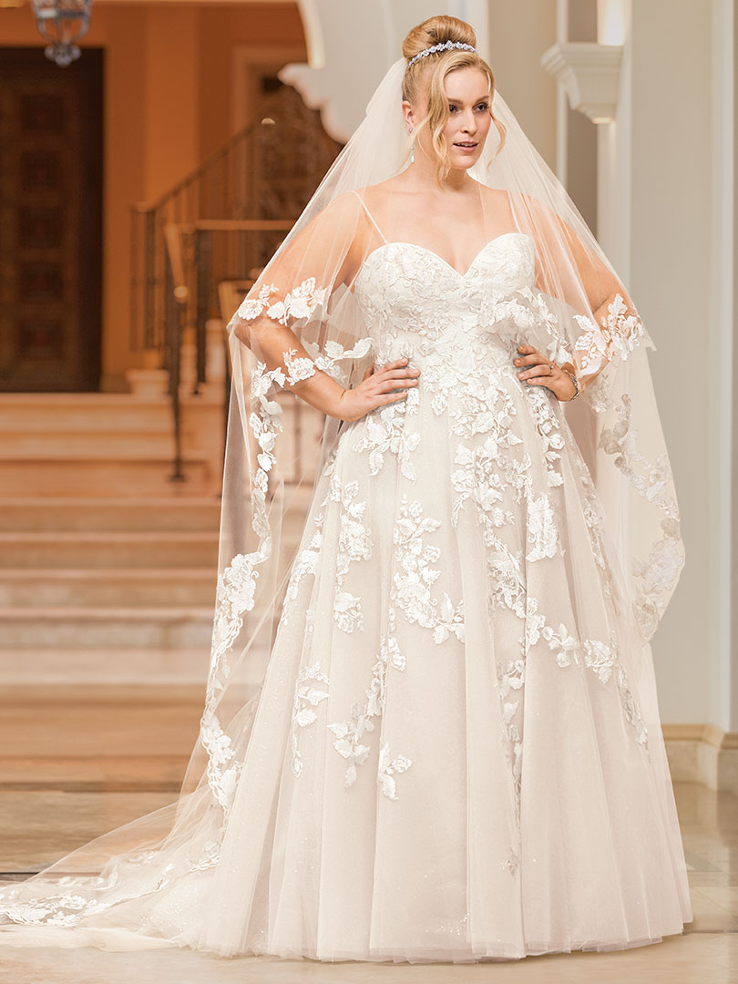 f0e8639508 Style 2332 Melodie | Top 5 Plus Size Beach Wedding Dresses by Casablanca  Bridal