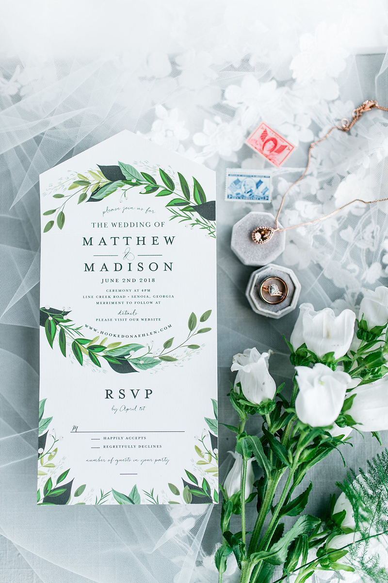 Rustic Natural Wedding In Style 2267 Morning Glory by Casablanca Bridal: Madison & Matthew