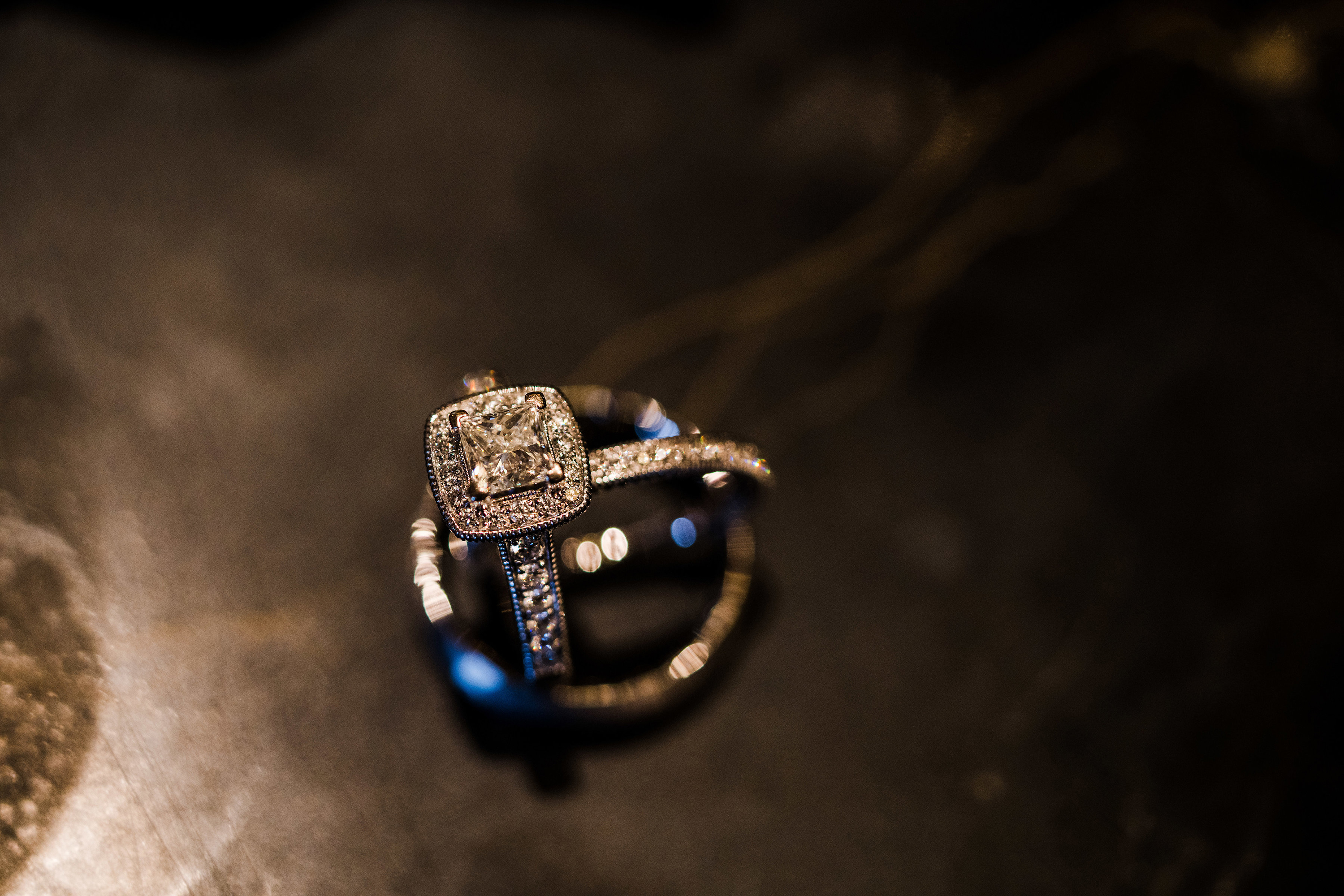 Casablanca Bridal | Wedding Ring Shot