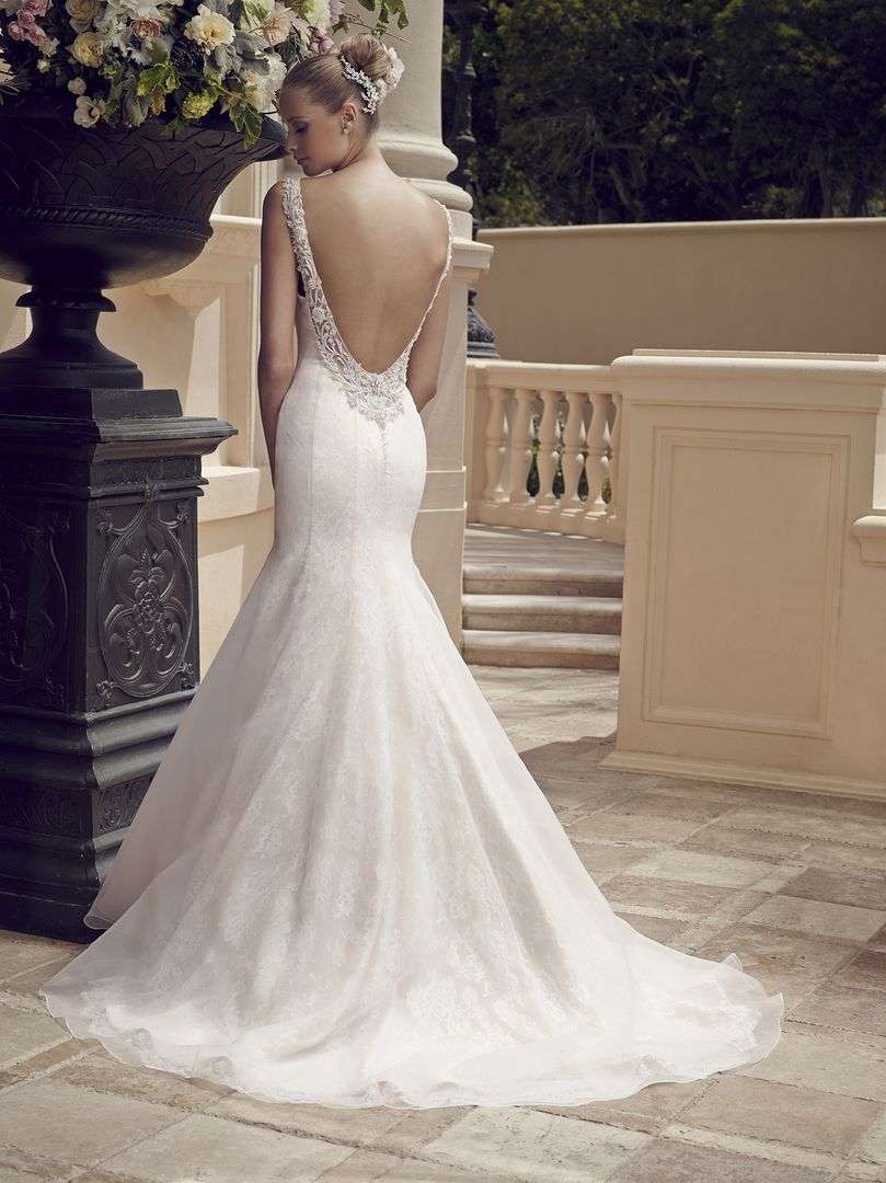 Top ten low back wedding dresses from casablanca bridal blog low back wedding dress junglespirit Gallery