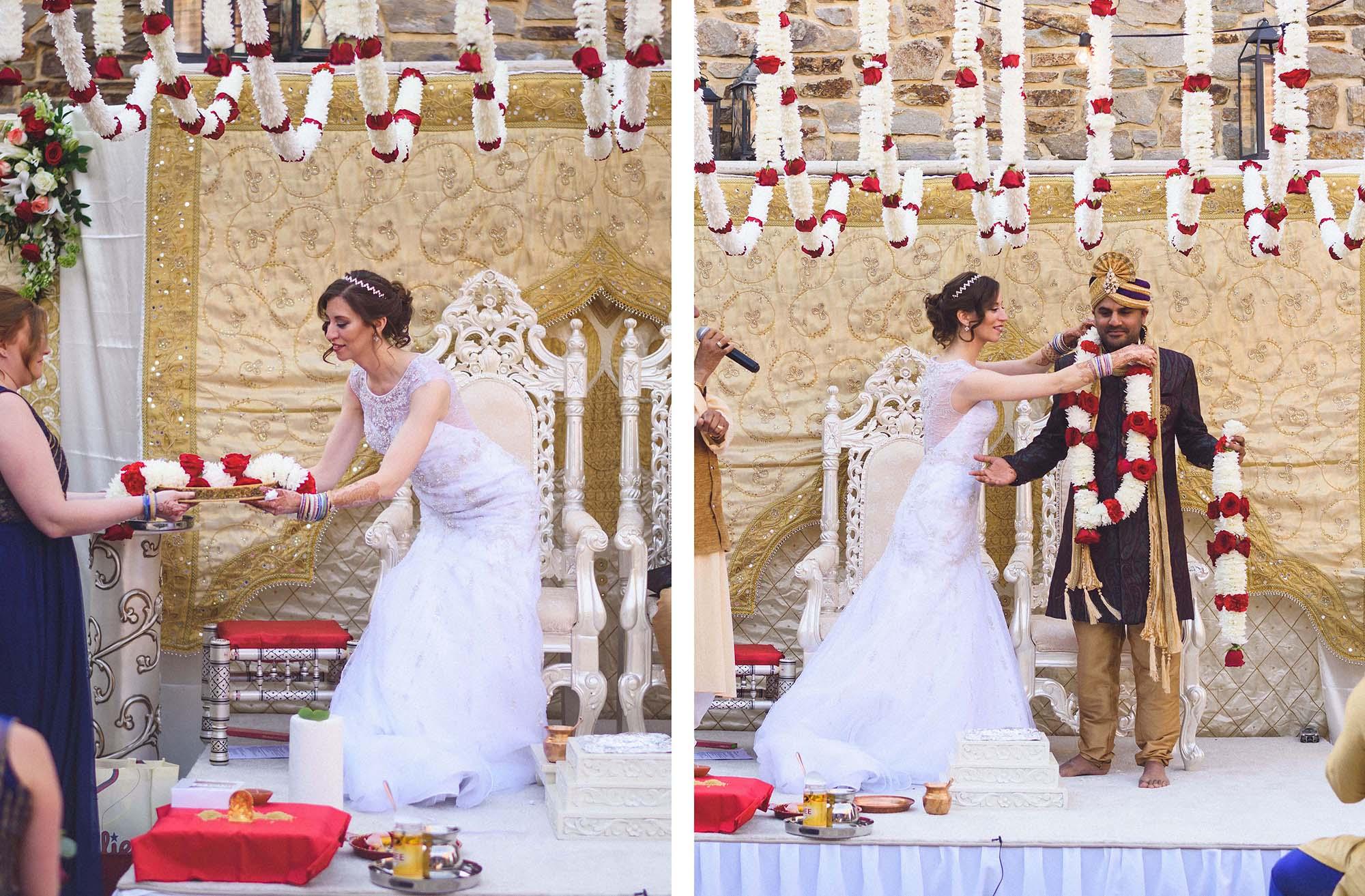 Indian Style Wedding Dress