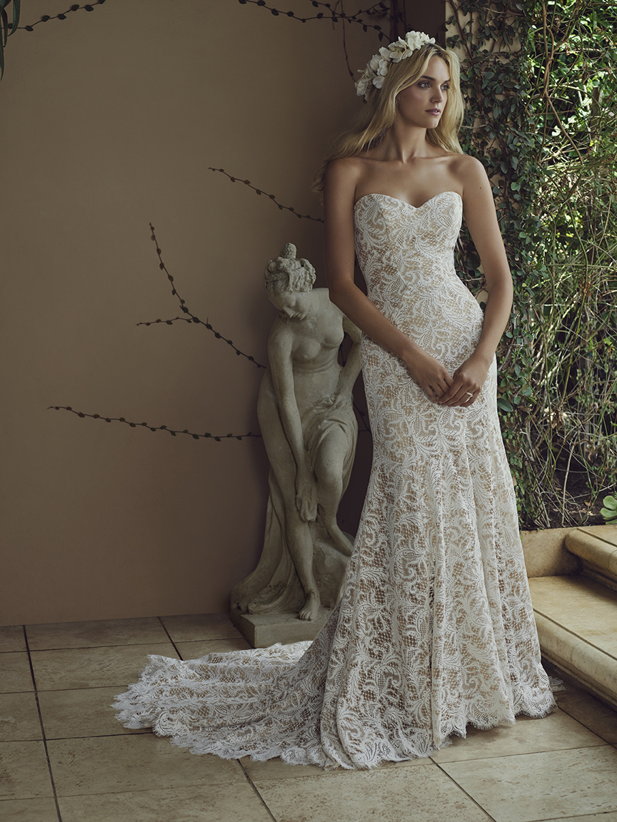 Top Colored Wedding Dresses by Casablanca Bridal / Blog / Casablanca ...