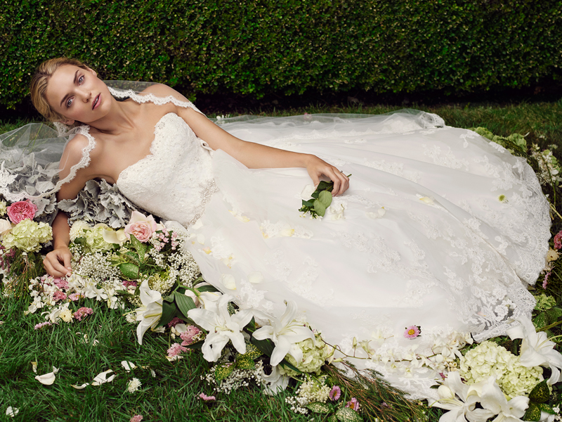 Casablanca Bridal Gown Of The Week Style 2229 Cherry Blossom / Blog ...