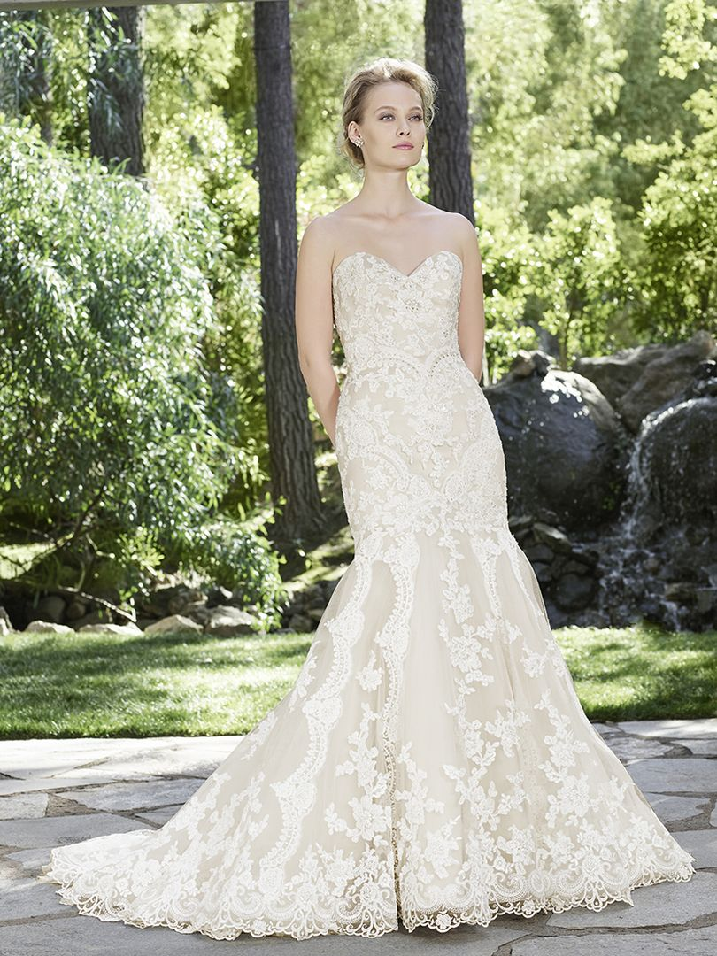 2254 Mermaid Wedding Dress Casablanca Bridal