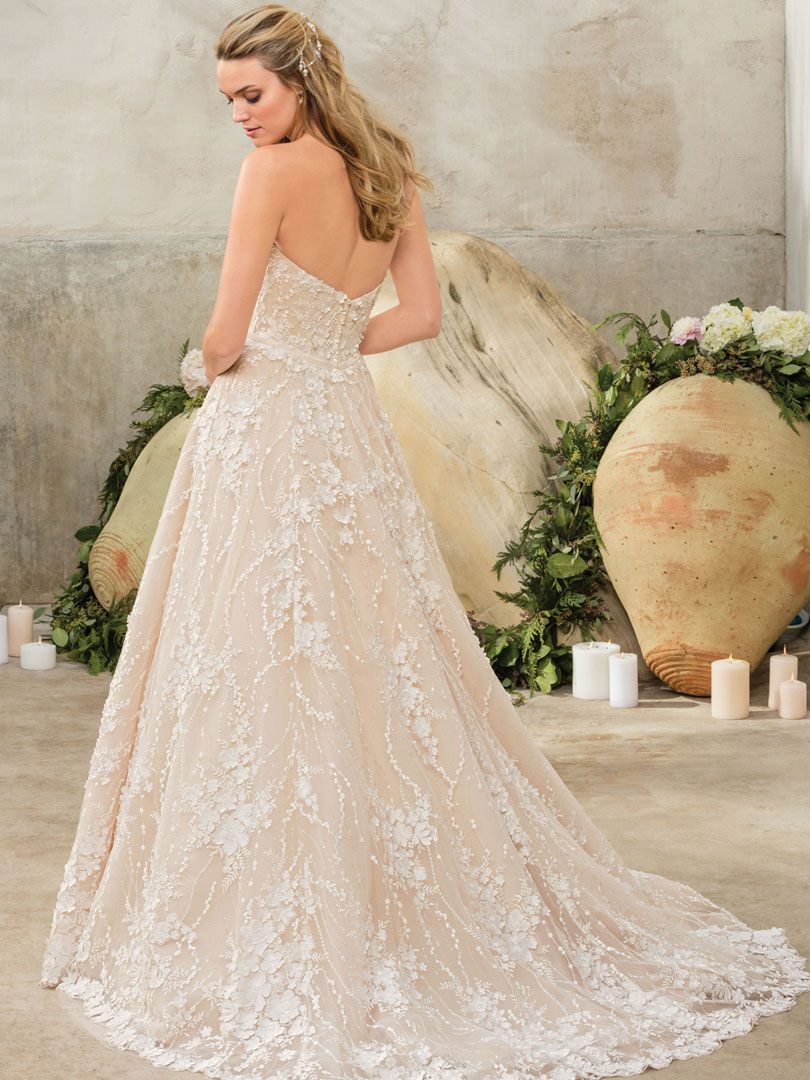 Want More Ideas For Colored Wedding Dresses By Casablanca Bridal Visit Our Pinterest Board Dedicated Entirely To Everything But The Traditional White: Natural Colored Wedding Dress At Websimilar.org