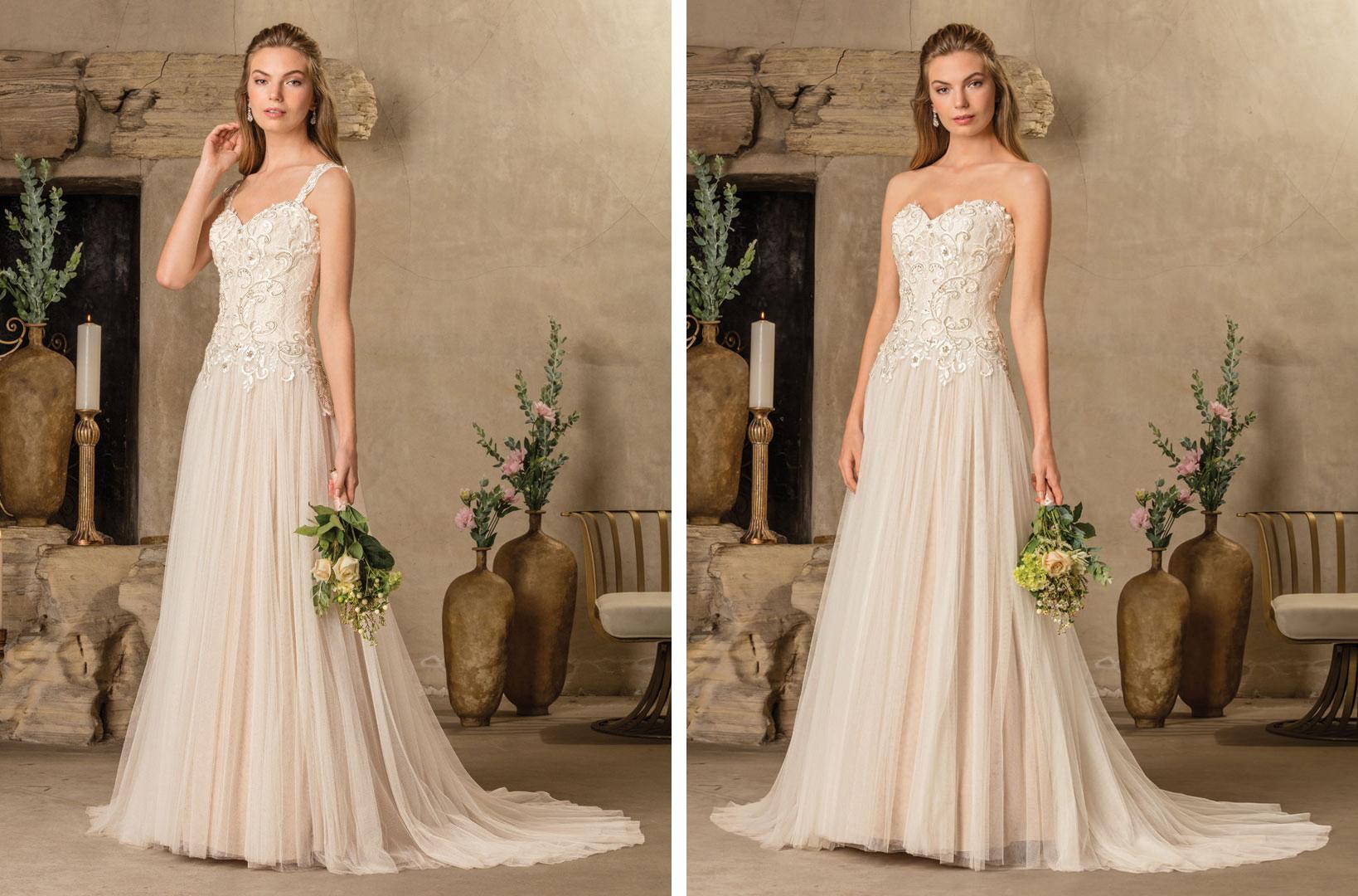 Bridal water lily 2226 wedding dresses photos brides com -  Two In One Wedding Dress Casablanca Bridal