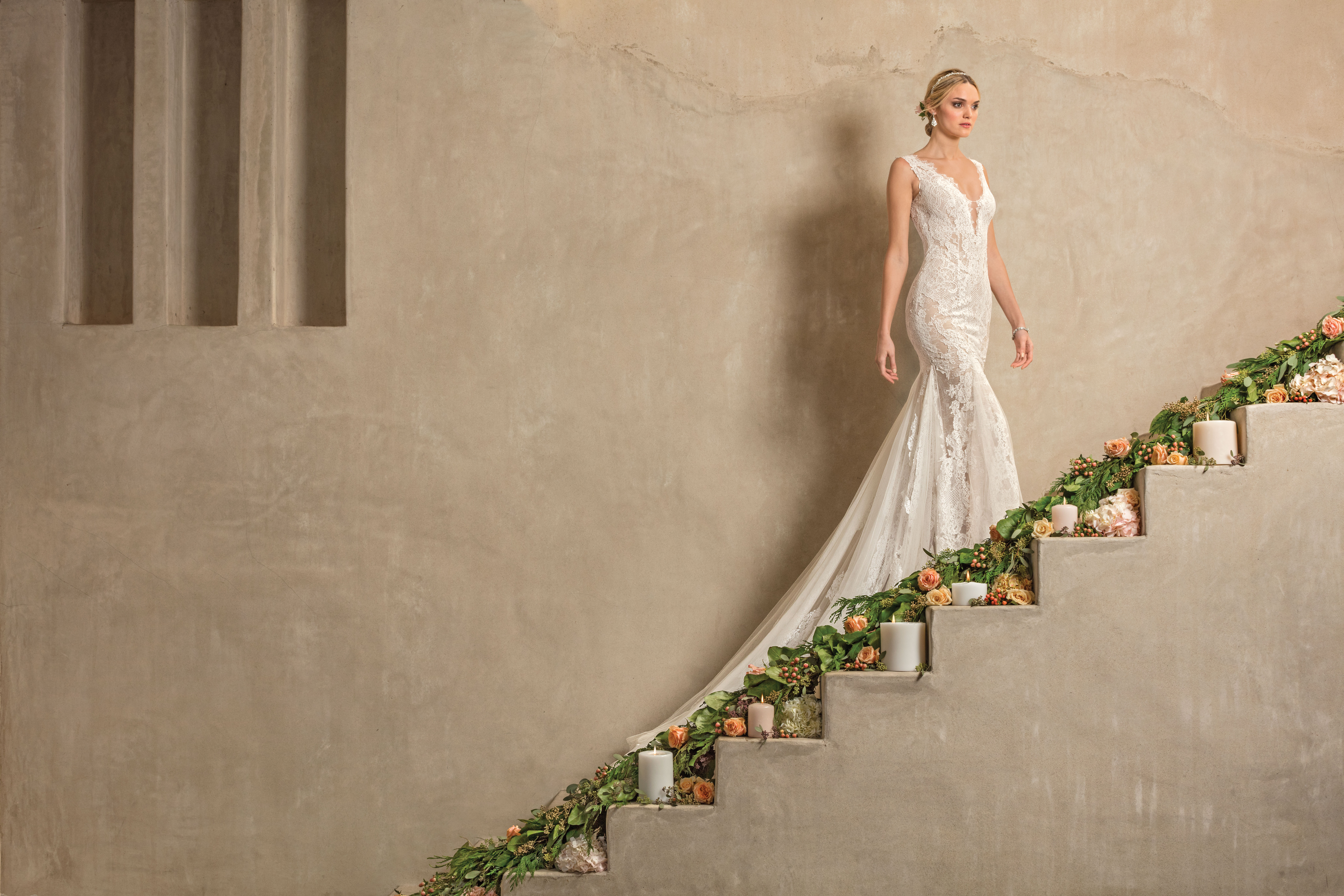 Top colored wedding dresses by casablanca bridal blog casablanca casabalnca bridal 2306 ad shot junglespirit Images