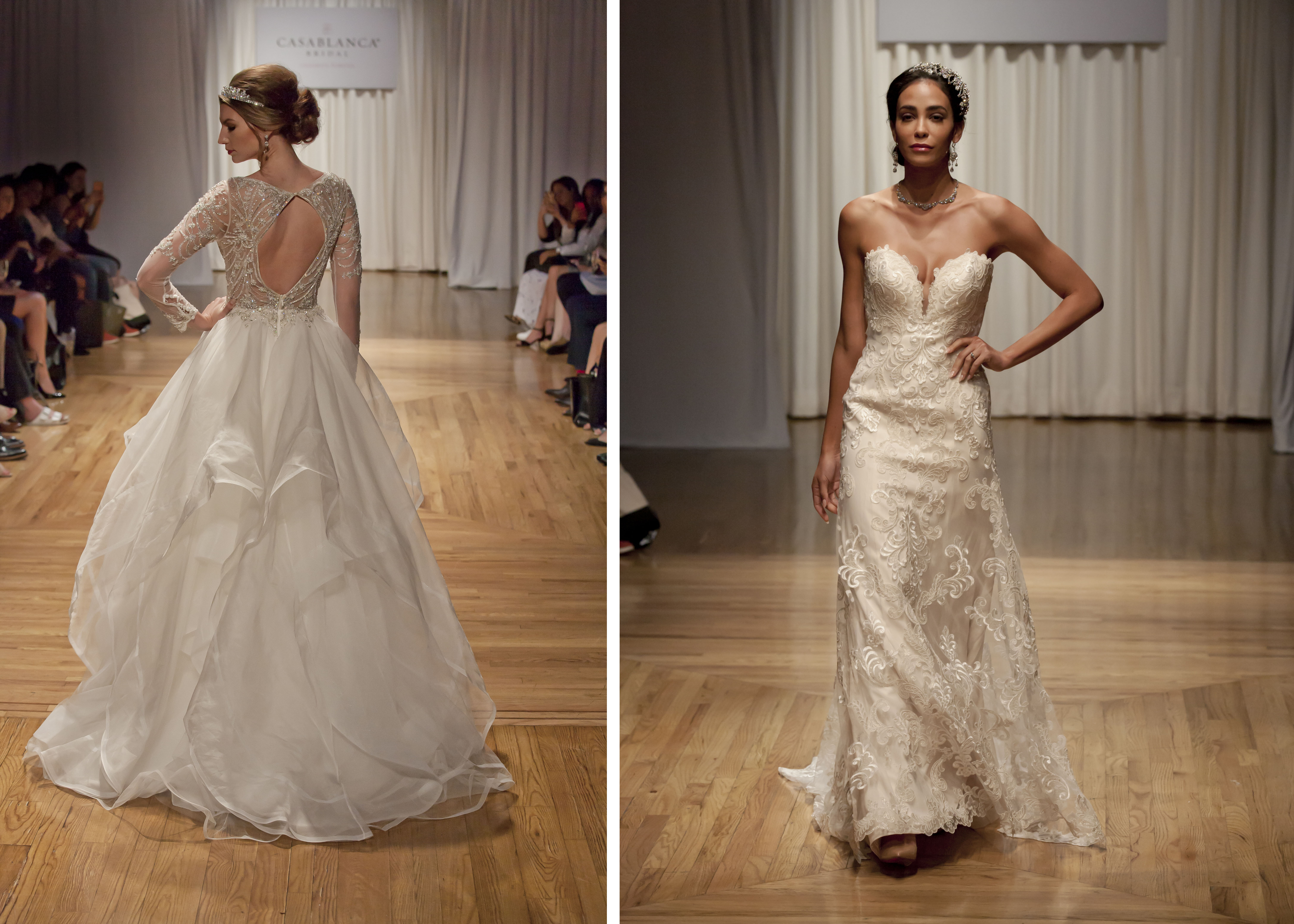Casabalnca Bridal Press Runway Show 20th Anniversary Party Preview