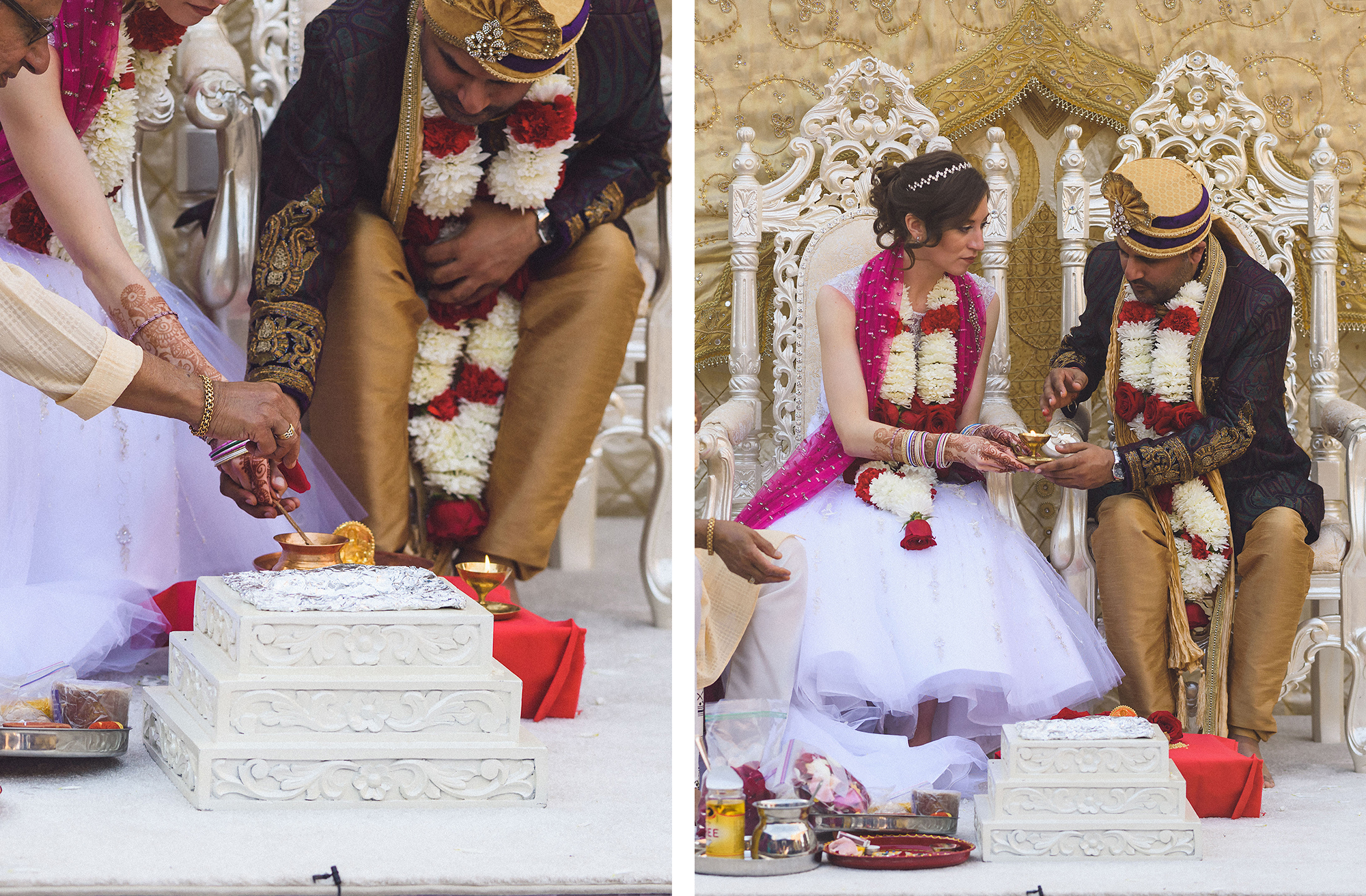 b26f159f7f American-Indian Fusion Wedding: Jenny & Neal / Blog / Casablanca Bridal