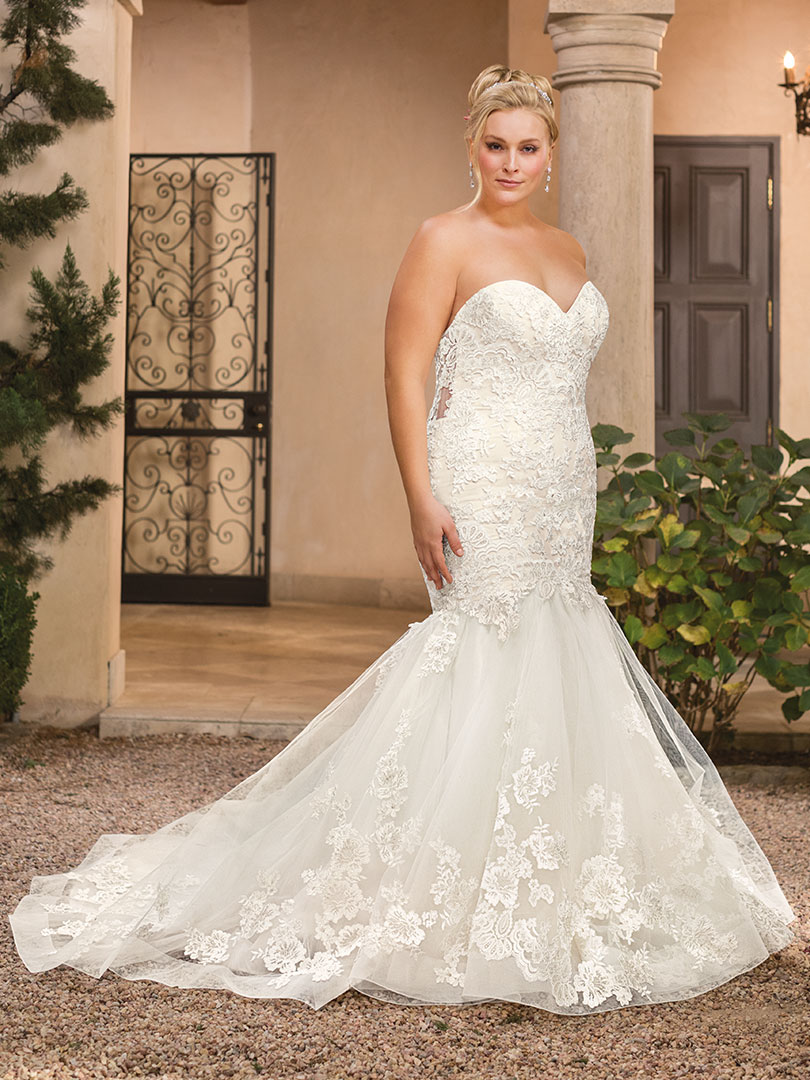 Top 5 Plus Size Beach Wedding Dresses By Casablanca Bridal Blog