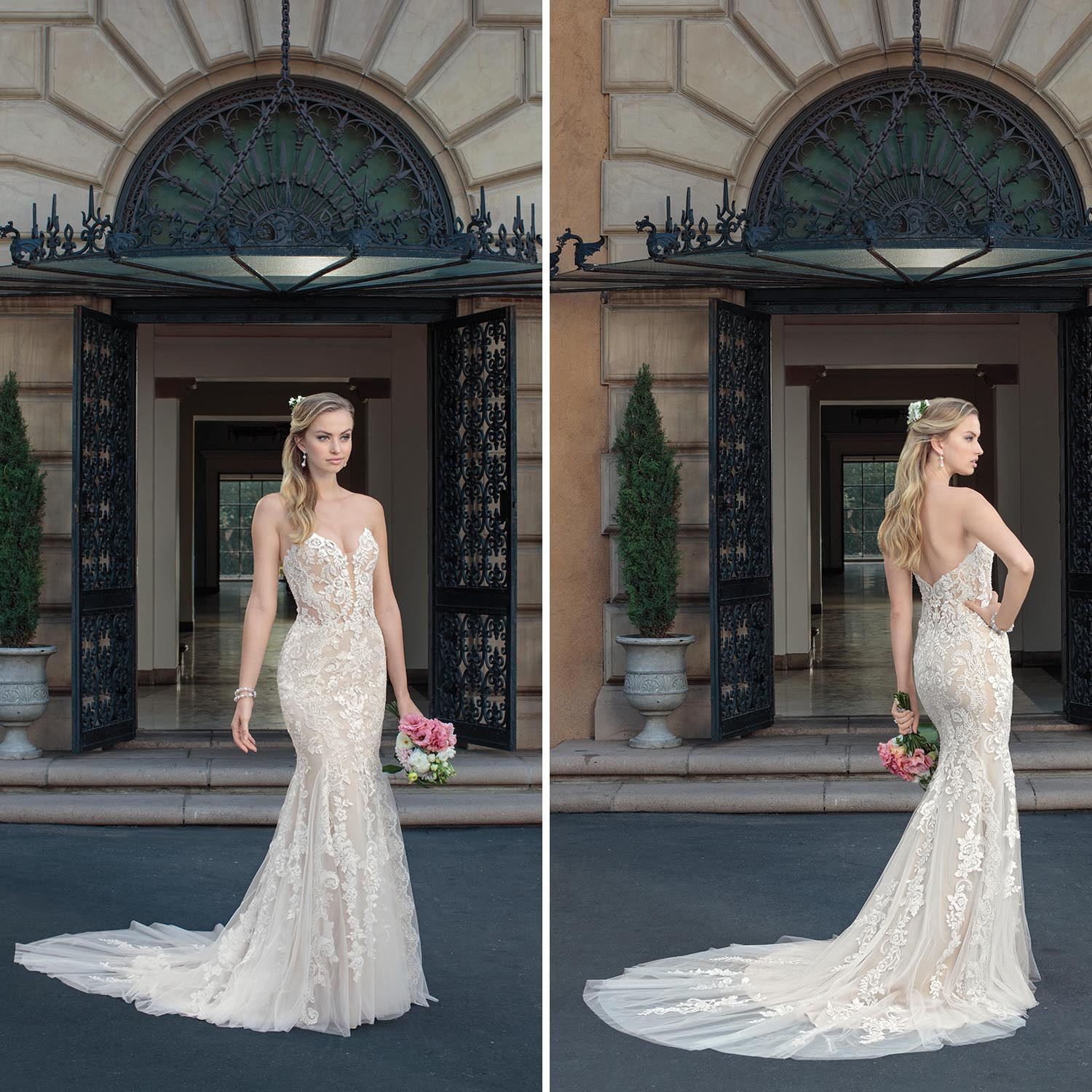 Casa Blanca Wedding Gowns: Lavish Lace Meets Sassy Sweetheart