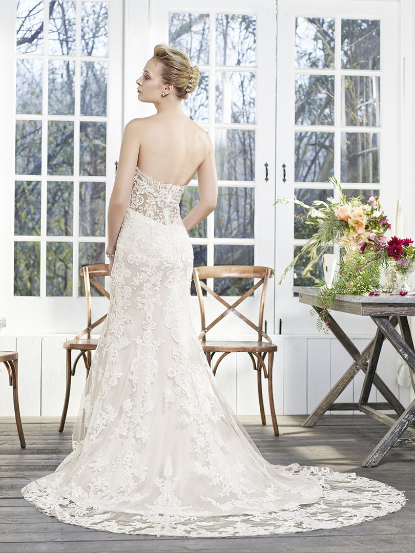 5352cb1ee28 casablanca bridal fit and flare boho wedding gown boho wedding gown fit and  flare lace and tulle ...