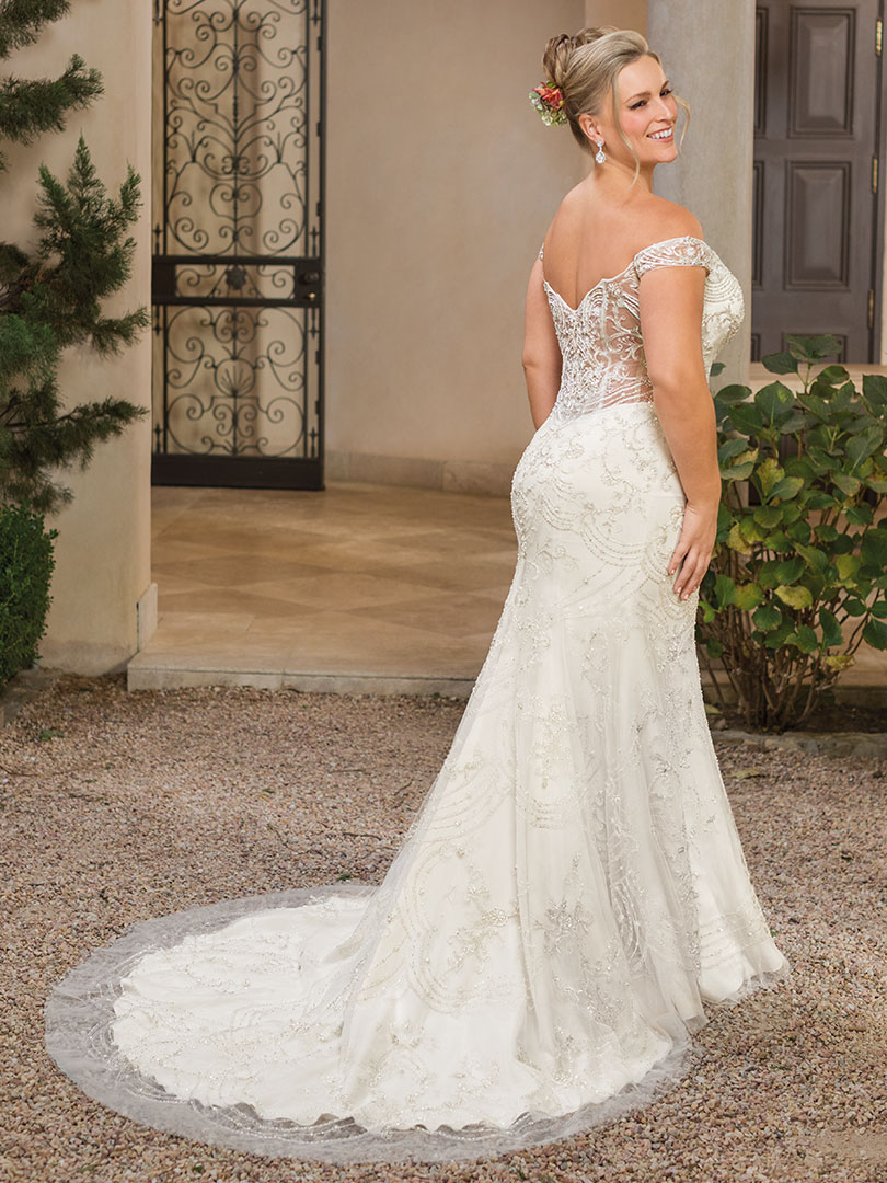 Top 5 Plus Size Beach Wedding Dresses by Casablanca Bridal ...