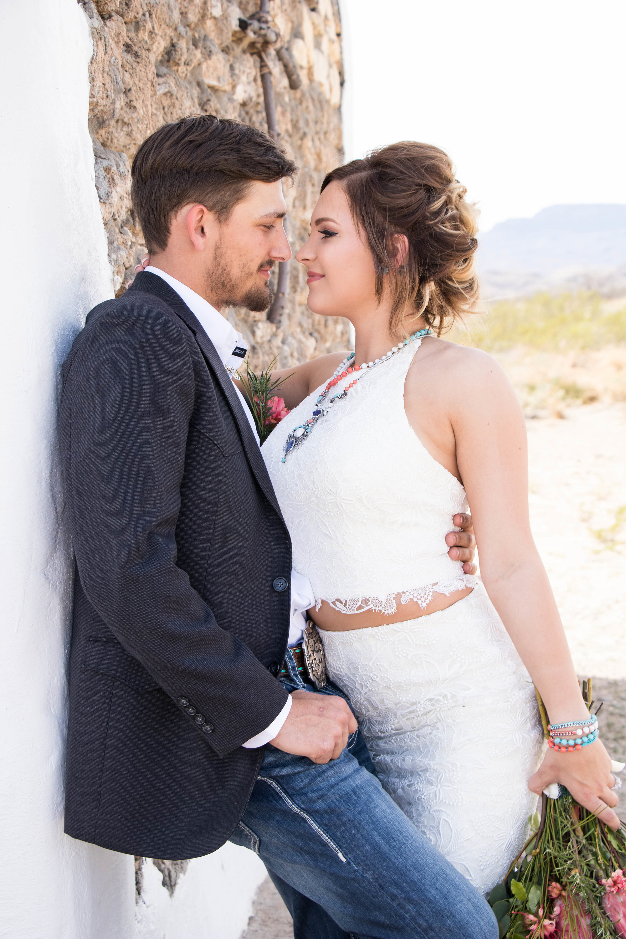 Style 2241 Heather | Casablanca Bridal Desert Bohemian Southwest Styled Shoot by Mandy Lorraine