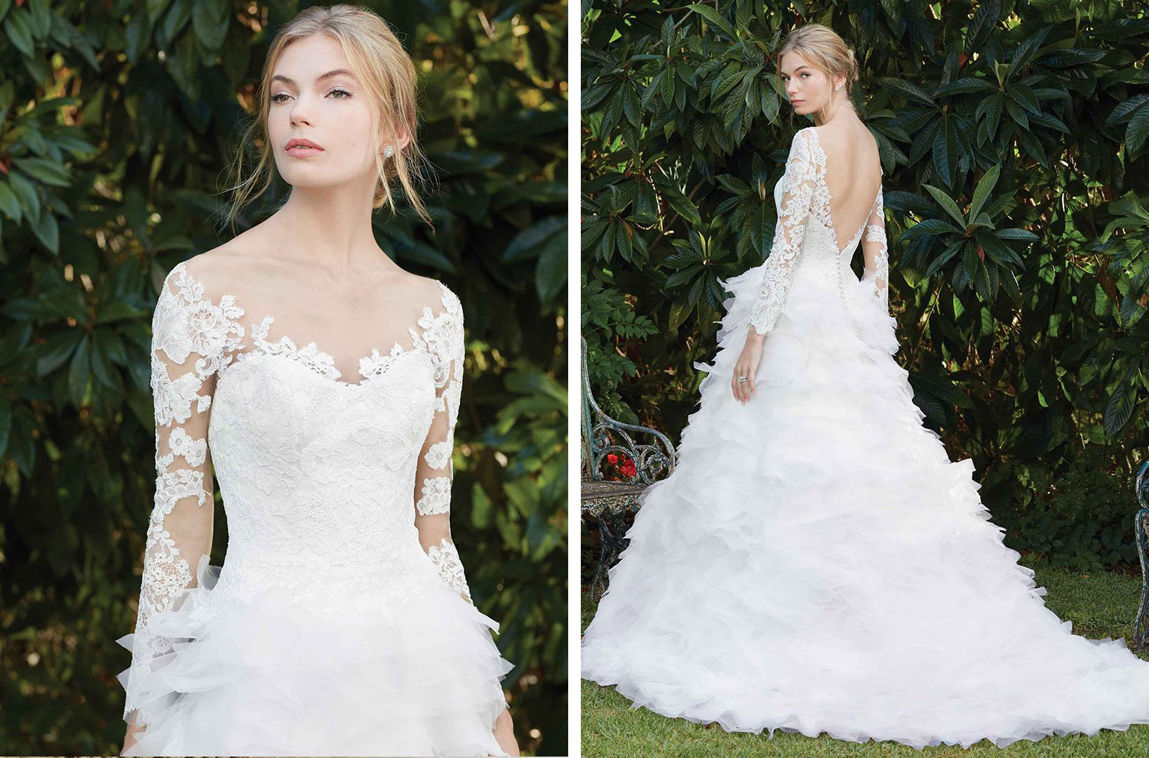 Top Ruffled Wedding Dresses By Casablanca Bridal Blog