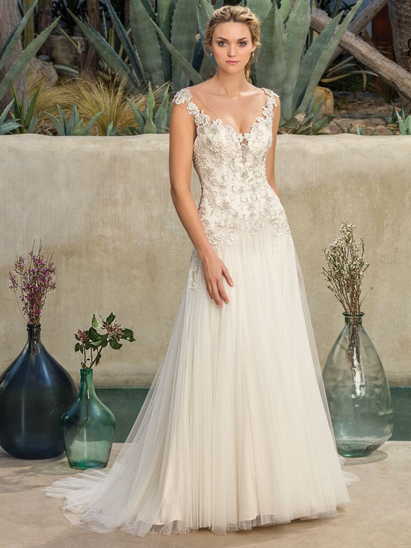 Sparkle, Swirls and Whimsy - Casablanca Bridal Style #2305 Madrona ...