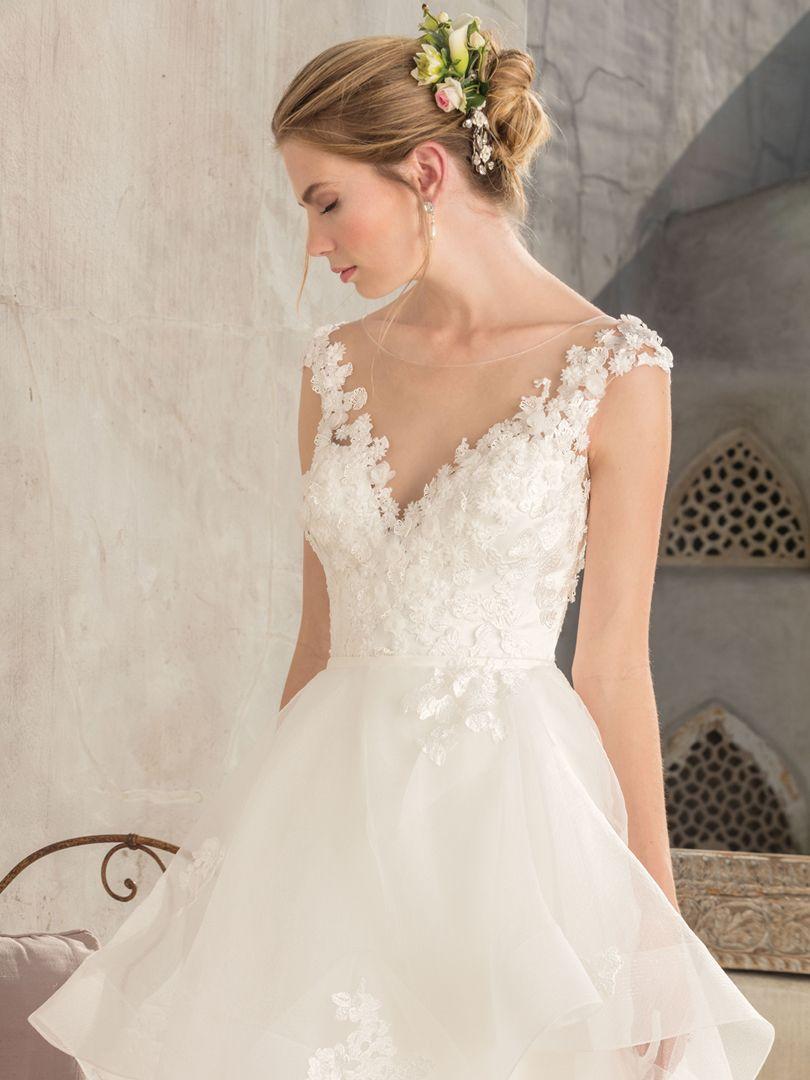 5b12fd37a61221 Top Ruffled Wedding Dresses by Casablanca Bridal / Blog / Casablanca ...