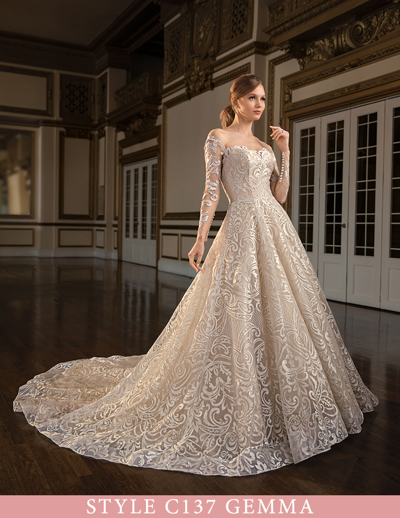 3027dcb55a2 Exclusive First Look at Casablanca Bridal Spring 2019 Collection