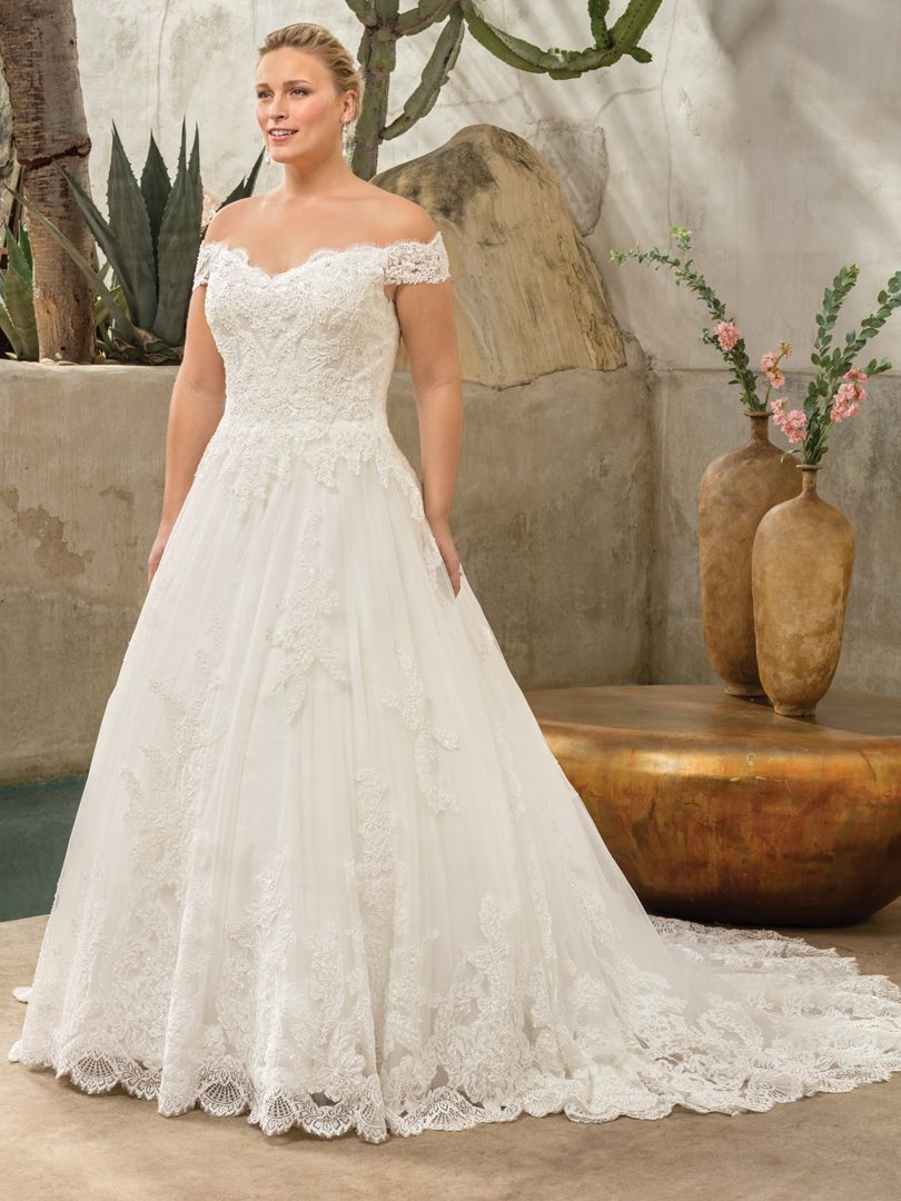 Top Plus Size Wedding Dresses Under 1500 By Casablanca Bridal