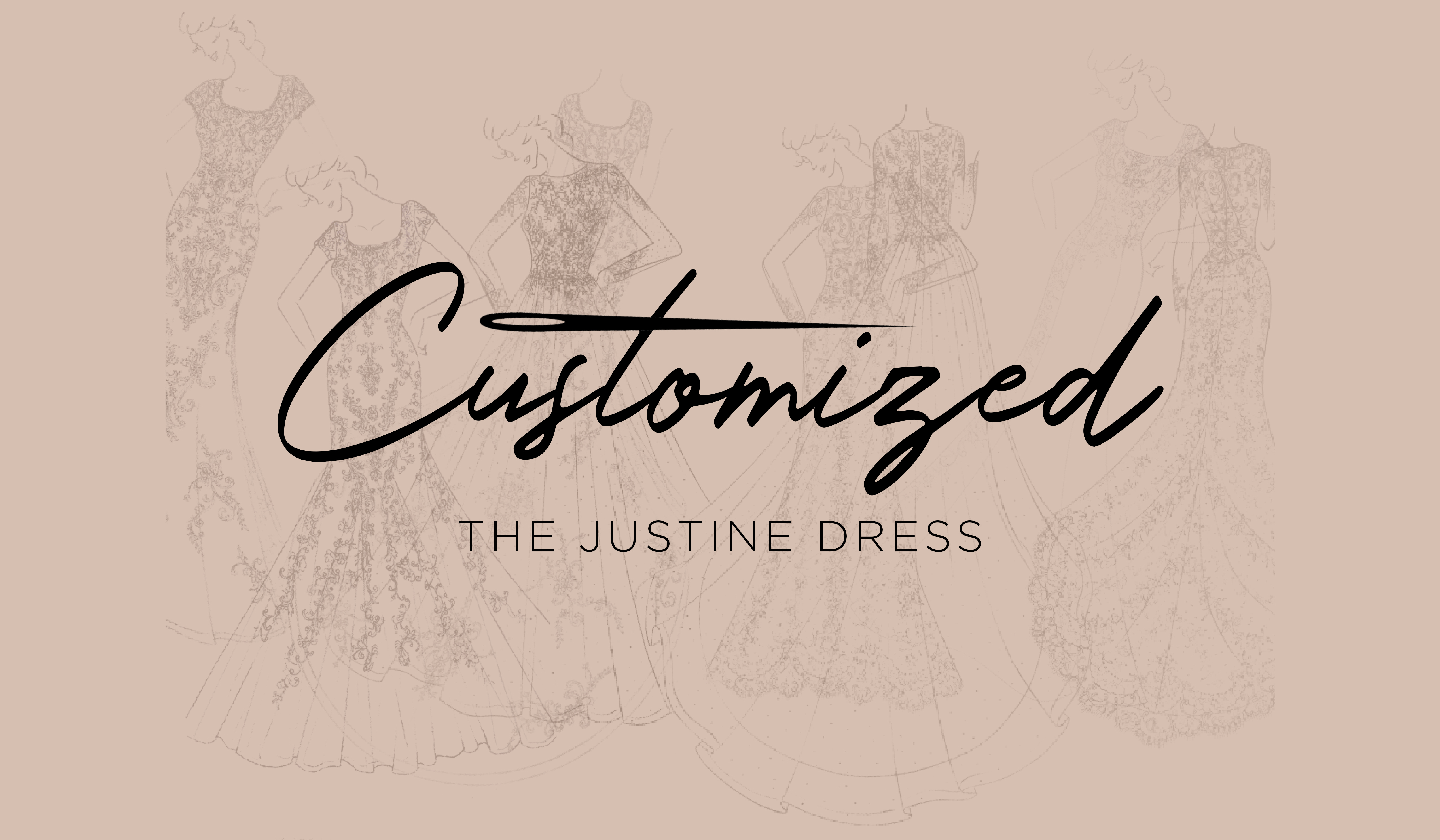 Casablanca Customized The Justine Dress
