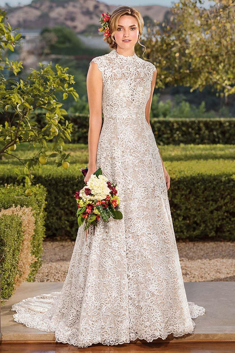 Textured Vintage Lace Wedding Dress: Style 2345 Vienna / Blog ...