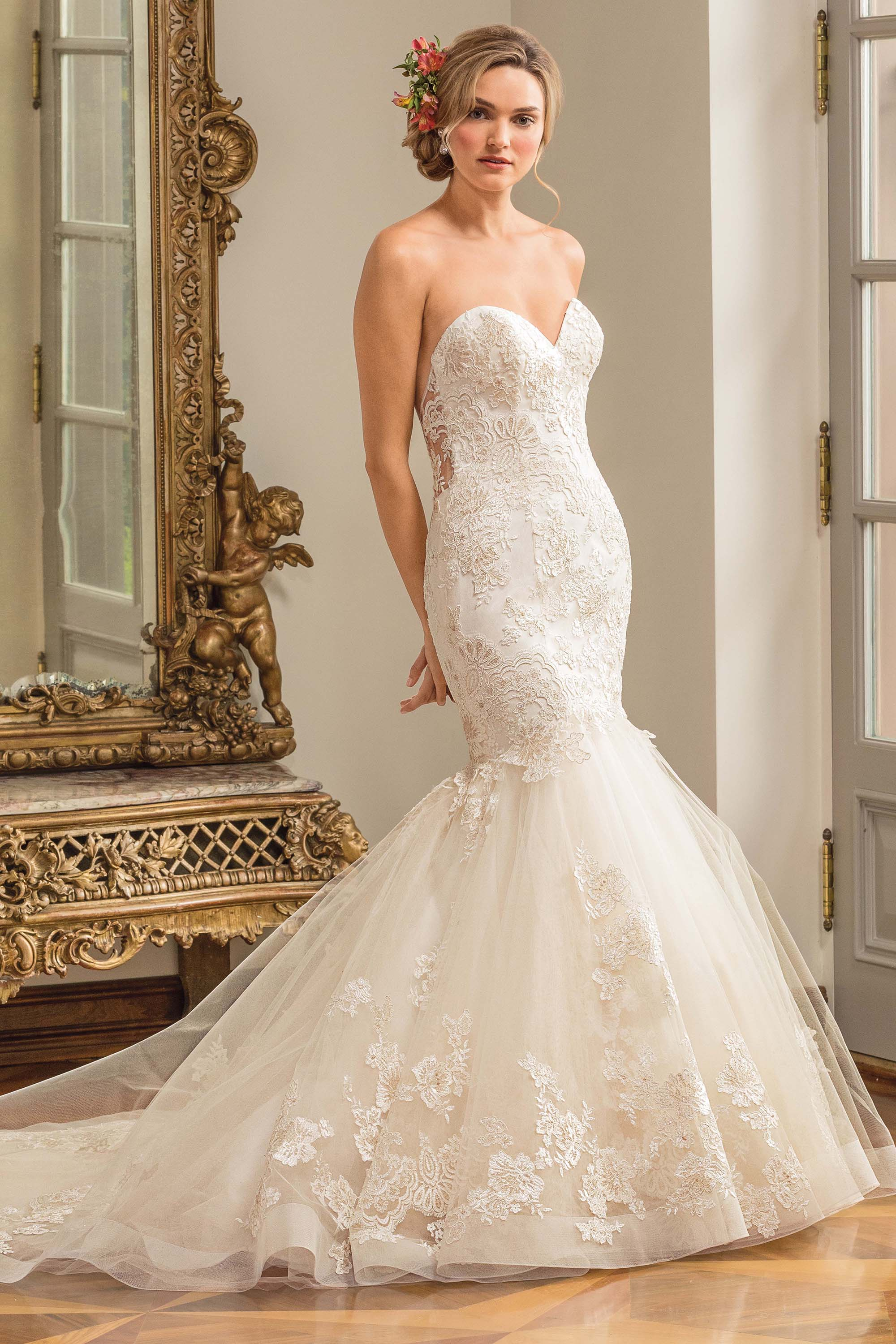 Mermaid Style Wedding Dress.Sophisticated Mermaid Wedding Dress Style 2333 Marni Blog