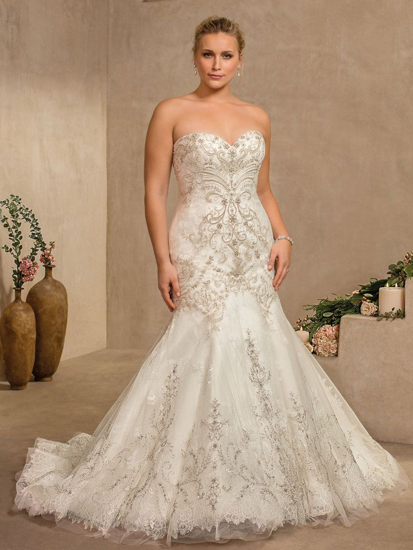 Unique Plus Size Wedding Dresses